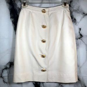 Vintage 80s Valentino Boutique A-Line Skirt